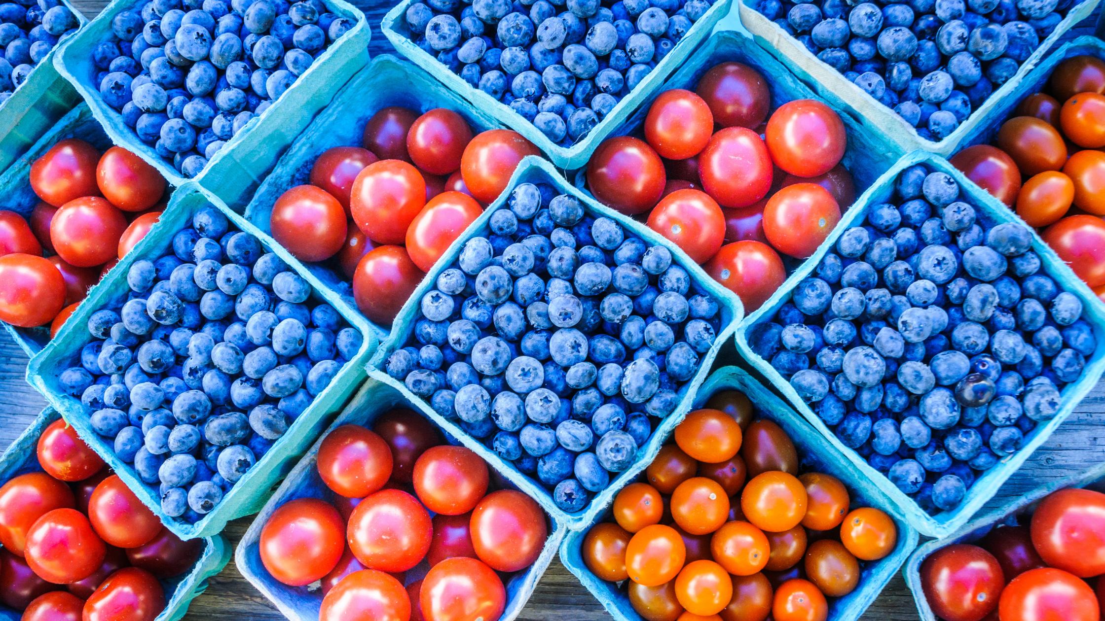 Summer Produce Storage