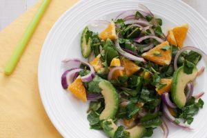 Watercress, Avocado and Orange Salad by Zipongo