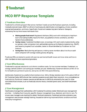State Medicaid RFP Foodsmart Response Cover copy