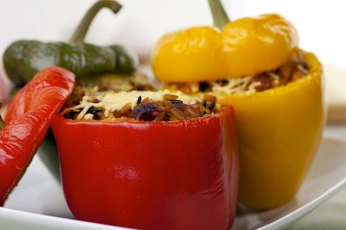 Fresh Stuffed Bell Peppers